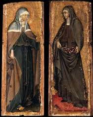 2 Medival panels Roman Black