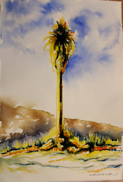 Brush Demo by Cathy Runkle